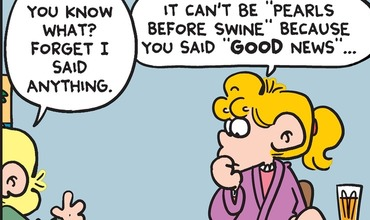FoxTrot teases Pearls Before Swine