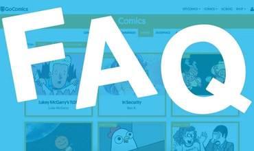 New GoComics FAQ