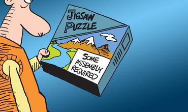 Puzzle Day comics