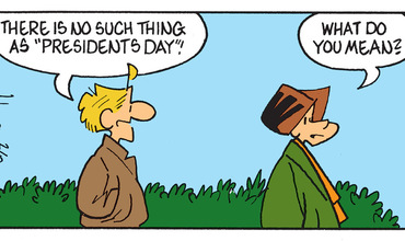 President's Day Comics