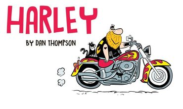 Harley New Comic Alert GoComics