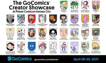GoComics Planet Comicon 2017 Blog