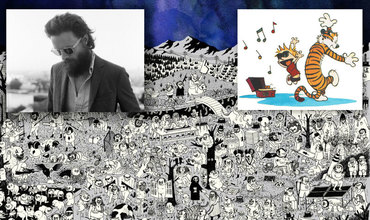 Father John Misty Calvin and Hobbes