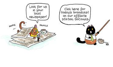 Breaking Cat News Newspapers