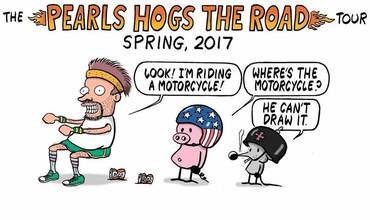 Pearls Hogs The Road Stephan Pastis Interview
