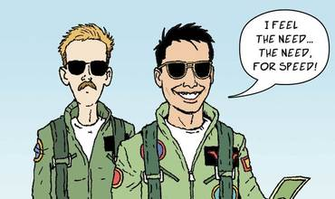 Top Gun Day Comics