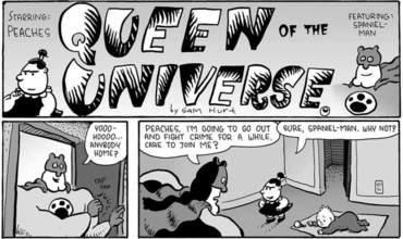 New Comic Alert Eyebeam Classic Peaches Queen of the Universe