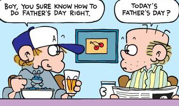 Foxtrot Fathers Day