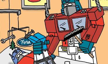 Transformers Comic Strips