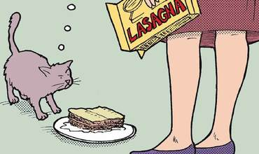 Lasagna Day Comics