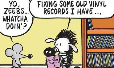 Vinyl Record Day Comics