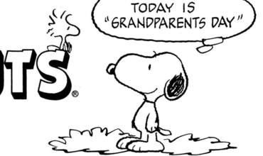 Grandparents Day Comics