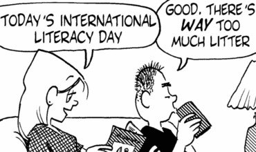 International Literacy Day Comics