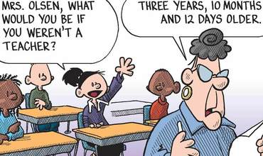 World Teacher Day Comics