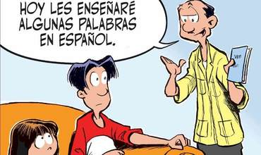 Spanish Language Day Comics
