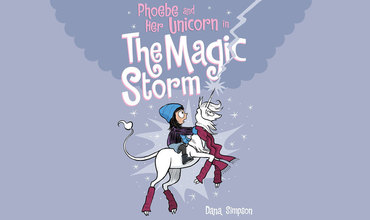 Phoebe and Her Unicorn in the Magic Storm graphic novel