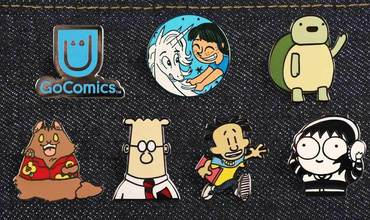 GoComics Enamel Pins Shop