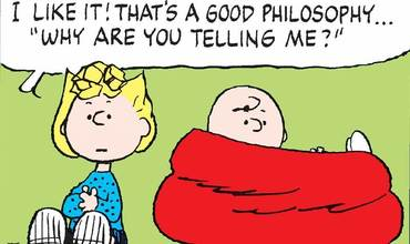 Philosophy Day Comics Peanuts Sally