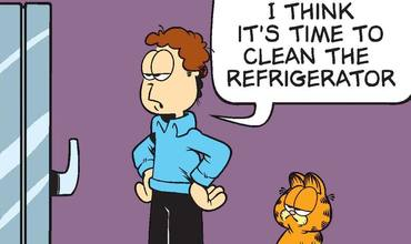 Clean Your Refrigerator Day Comics