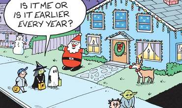 Christmas Decorations Comics