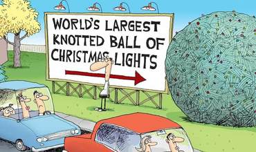 Christmas Lights comics