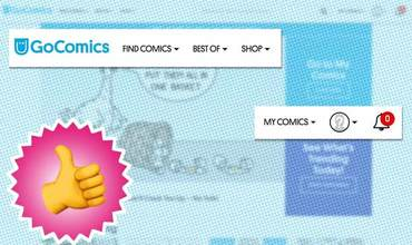 GoComics New Navigation
