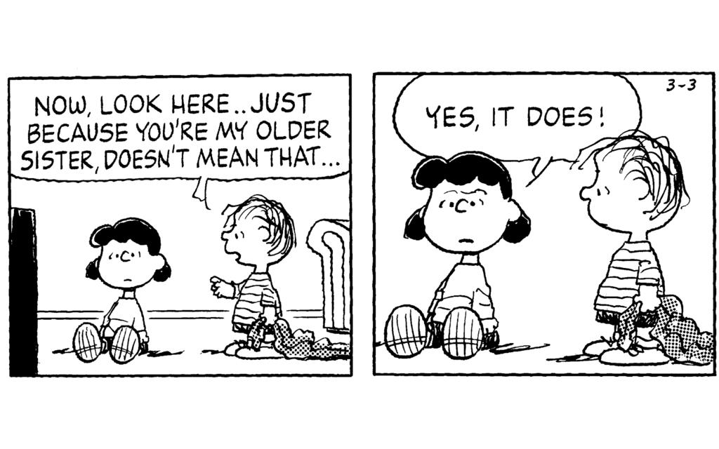Peanuts: Ups and Downs of Having Siblings