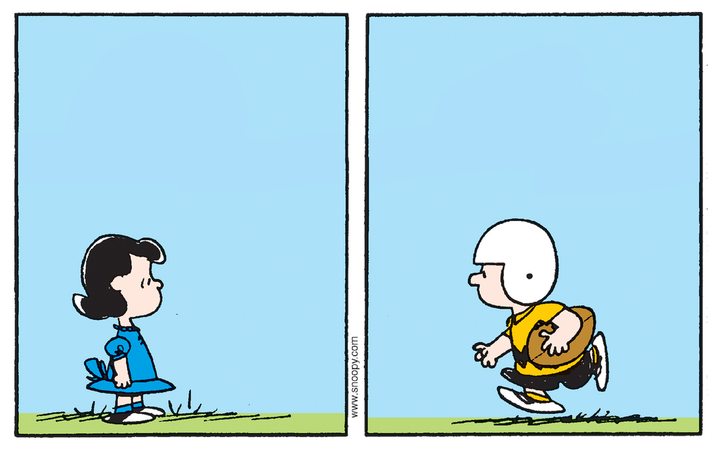 Peanuts: Football Fake-Outs