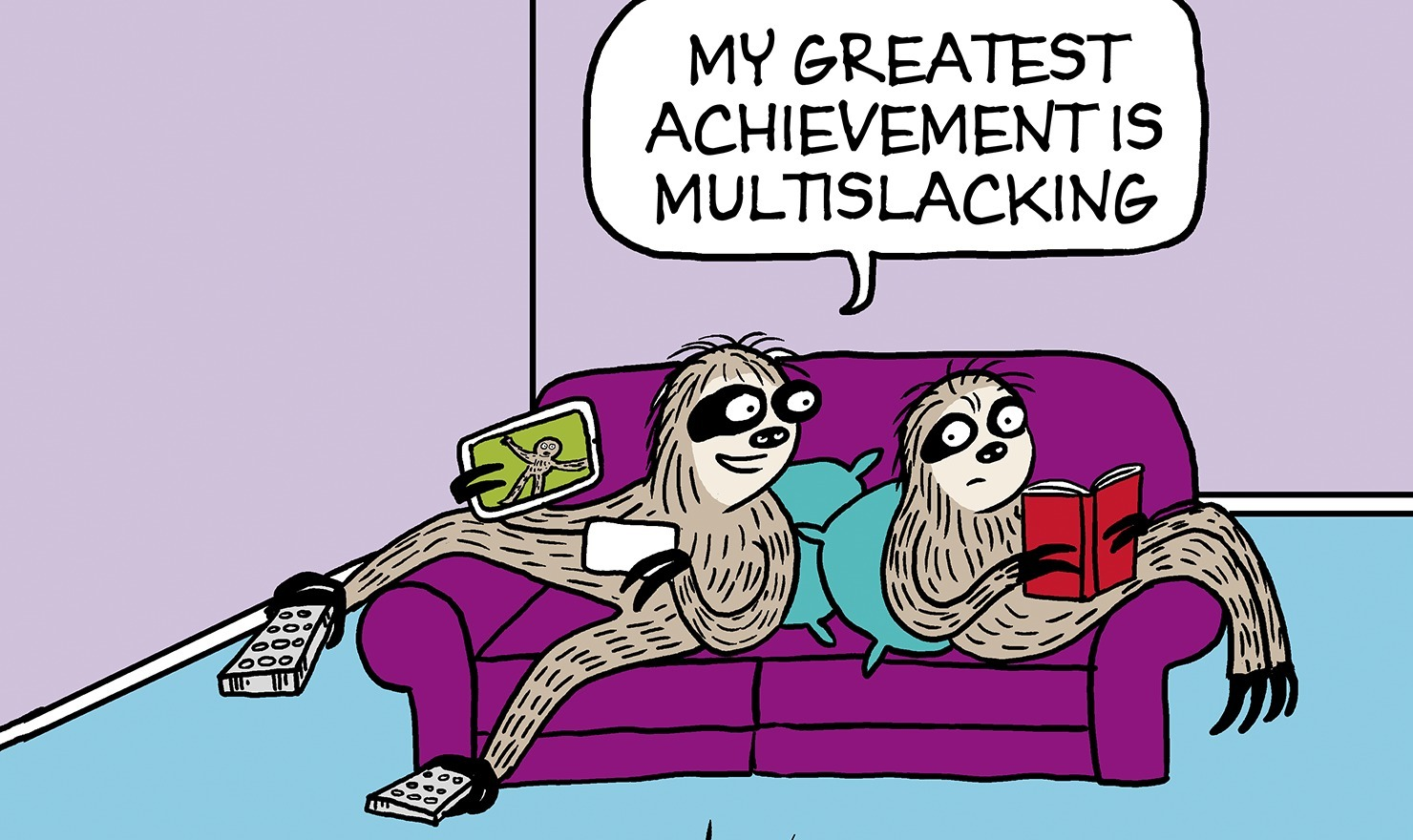 30 Comics to Help You Achieve the Ultimate Lazy Day