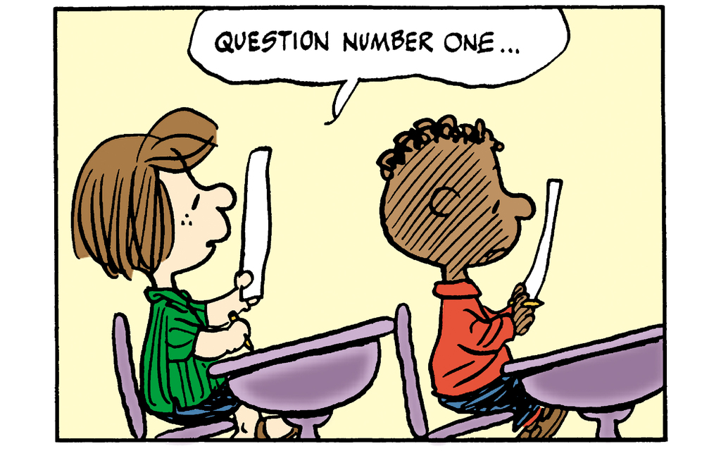 Peanuts: In the Classroom