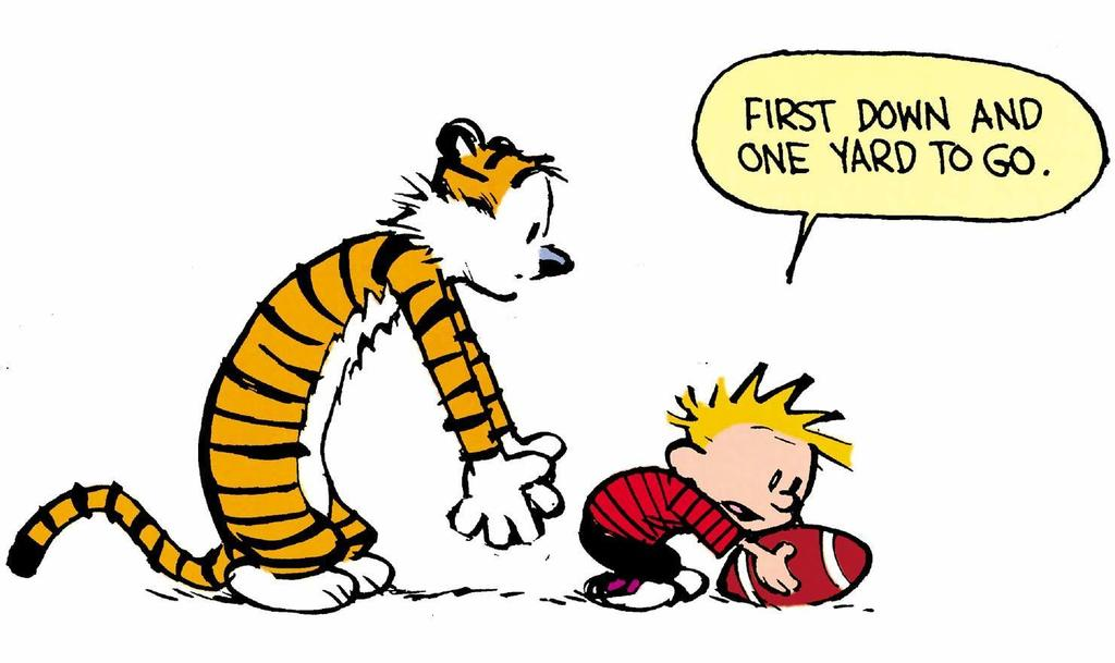 Kicking Off Football Season with Calvin and Hobbes