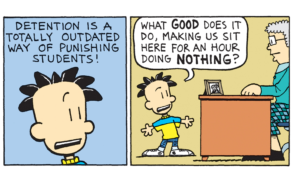 Big Nate: Winner of Detention