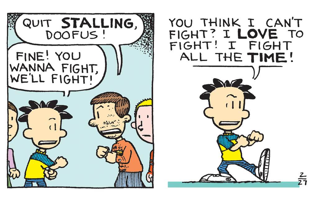 Big Nate Fights His Bully