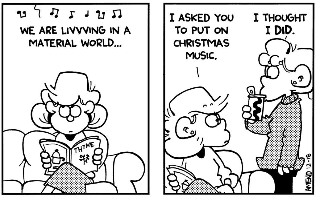 FoxTrot: Happy Holiday Funnies