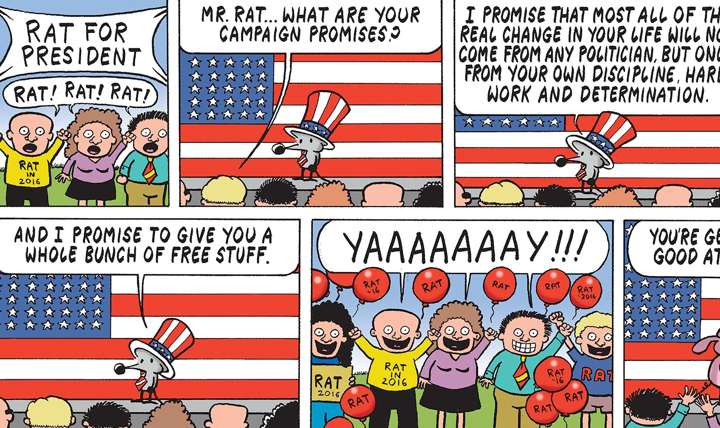 Election Selections: Pearls Before Swine Edition