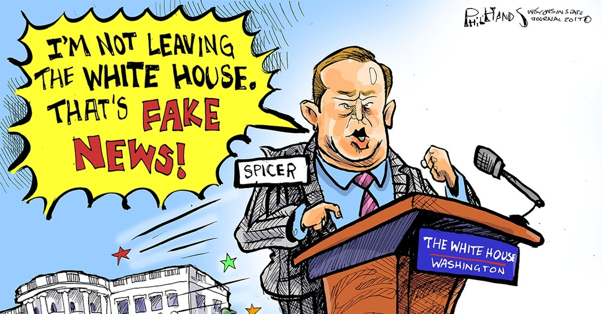 7 Hilarious Spicer Cartoons That Will Make You Laugh out Loud