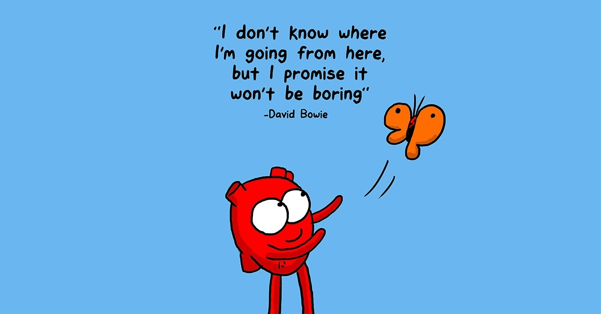 The Awkward Yeti - David Bowie Lyrics