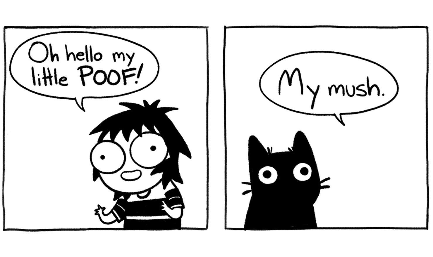 Sarahs Scribbles Cat Comics