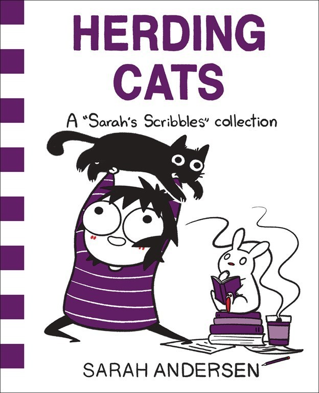 'Herding Cats' the New 'Sarah's Scribbles' Book is So Available