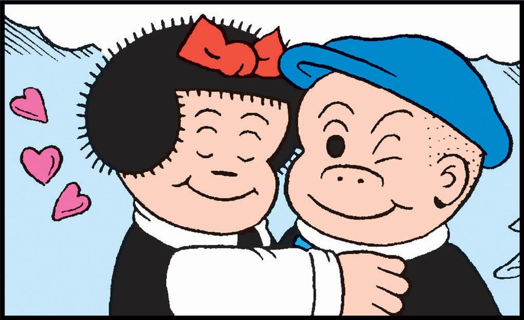 Relationship Goals: Nancy and Sluggo Through the Years
