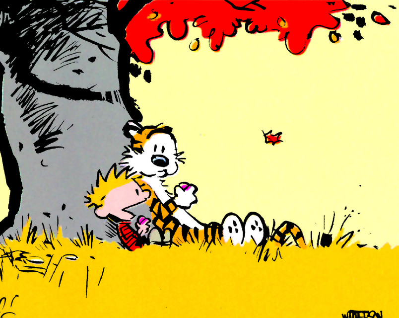 Fall Philosophizing with 'Calvin and Hobbes'