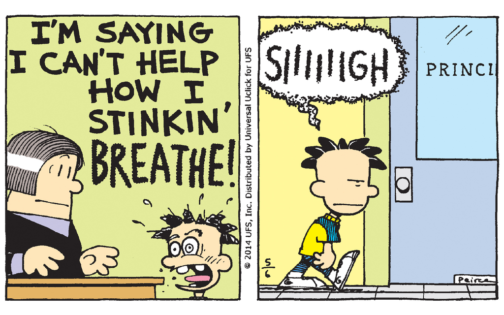 6 Comics from the Latest 'Big Nate' book 'Big Nate Goes Bananas!'