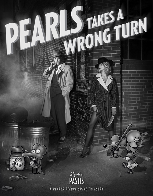 The Pre-History of 'Pearls' is Featured in 'Pearls Takes a Wrong Turn' New Book