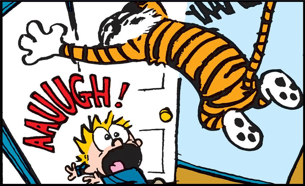 Hobbes Attacks!