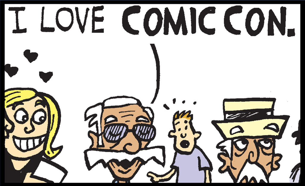 In Honor of Comics Great Stan Lee