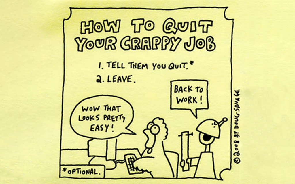 The Glorious Sensation of Quitting Your Job