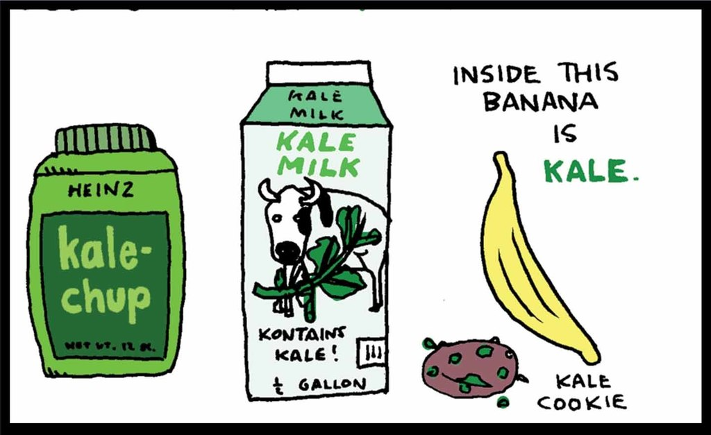 Kalepocalypse, Brought to You by Ted Rall