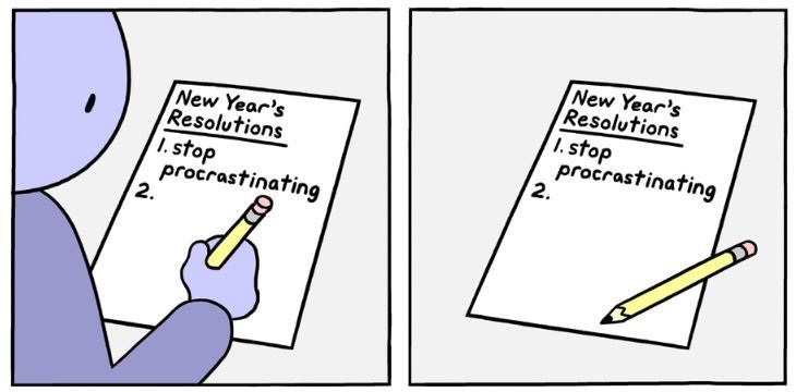 25 Comics Make New Year's Resolutions