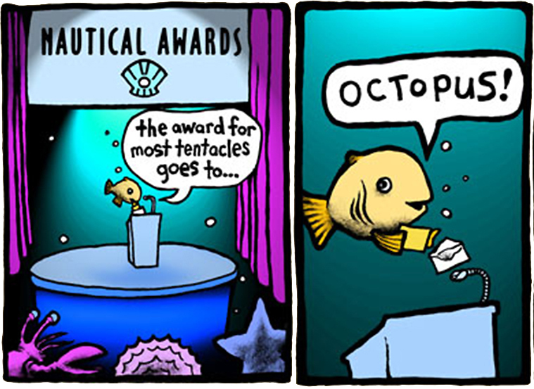 Top 25 Comics About Awards Show Cliches