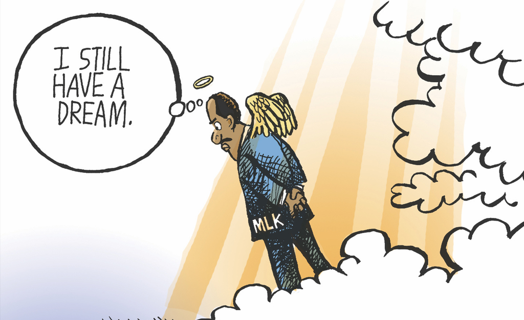 20 Comics Honoring the Work of Martin Luther King